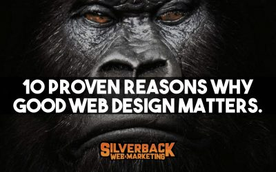 10 Proven Reasons Why Good Web Design Matters
