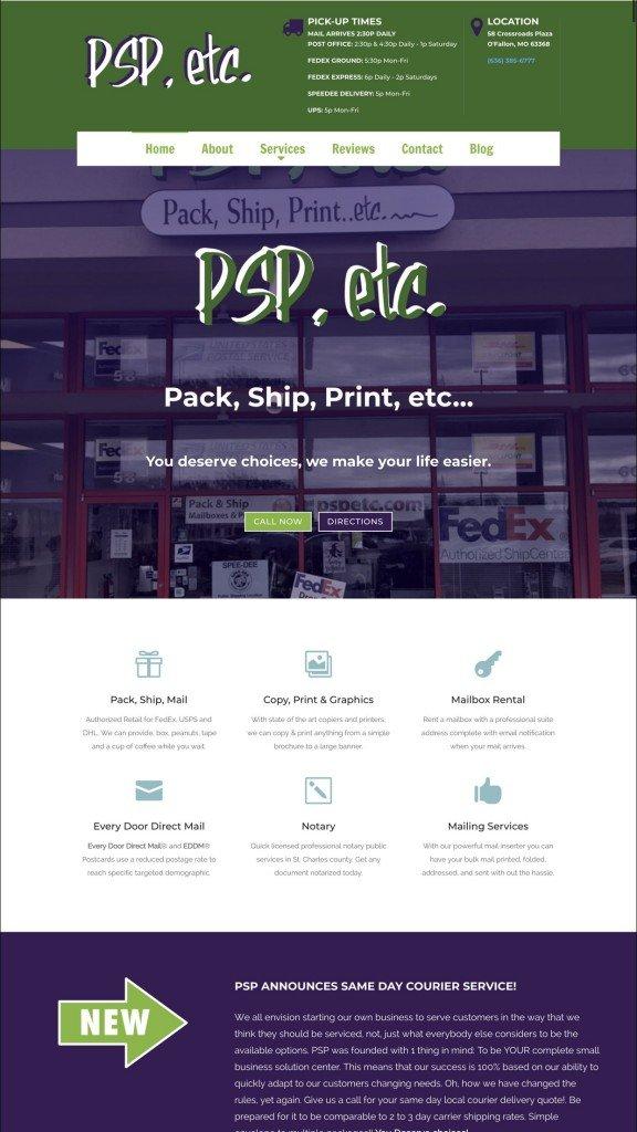 Web Design Samples Business