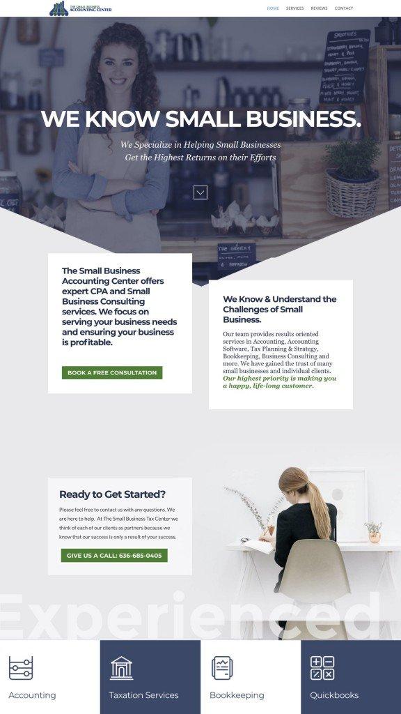 Web Design Samples.accountant Cpa