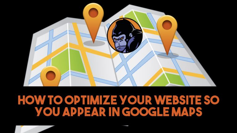 Local seo google maps silverback web design marketing