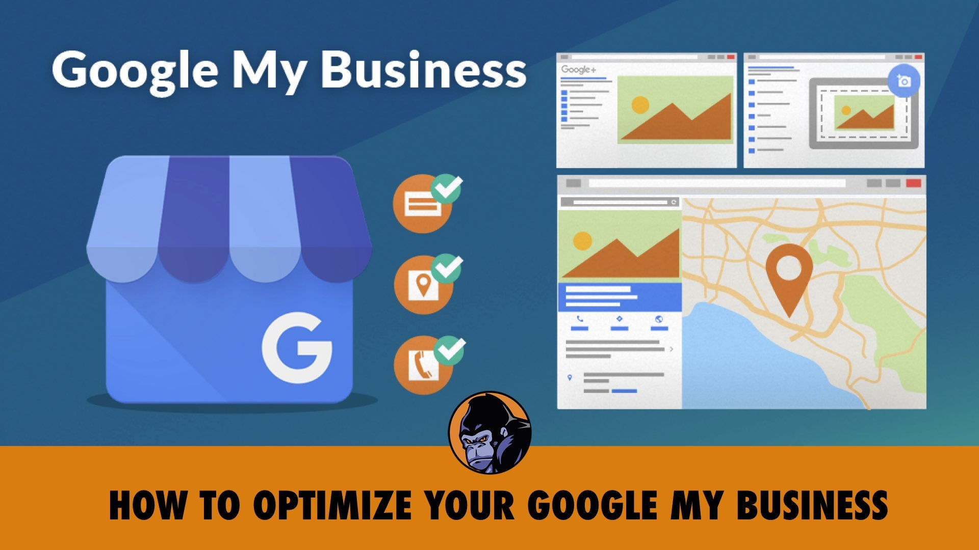 how to optimize your google my business listing page - shop