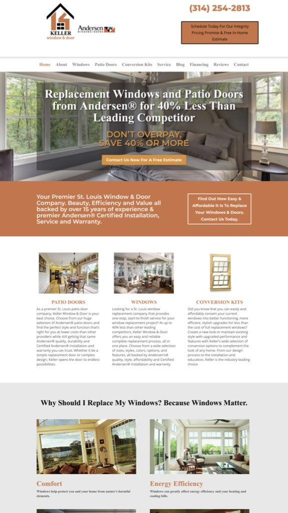 Web Design, Marketing, Contractor, Leads, St. Louis - PORTFOLIO