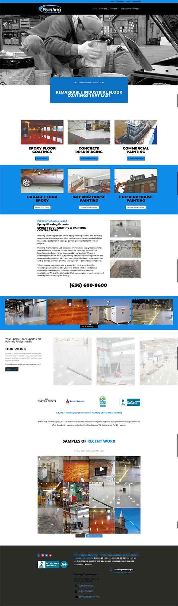 painting-technologies-web-design-case-study