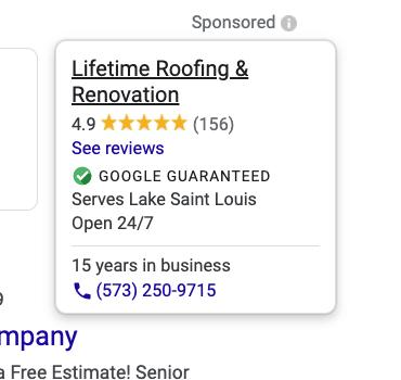 Google Local Service